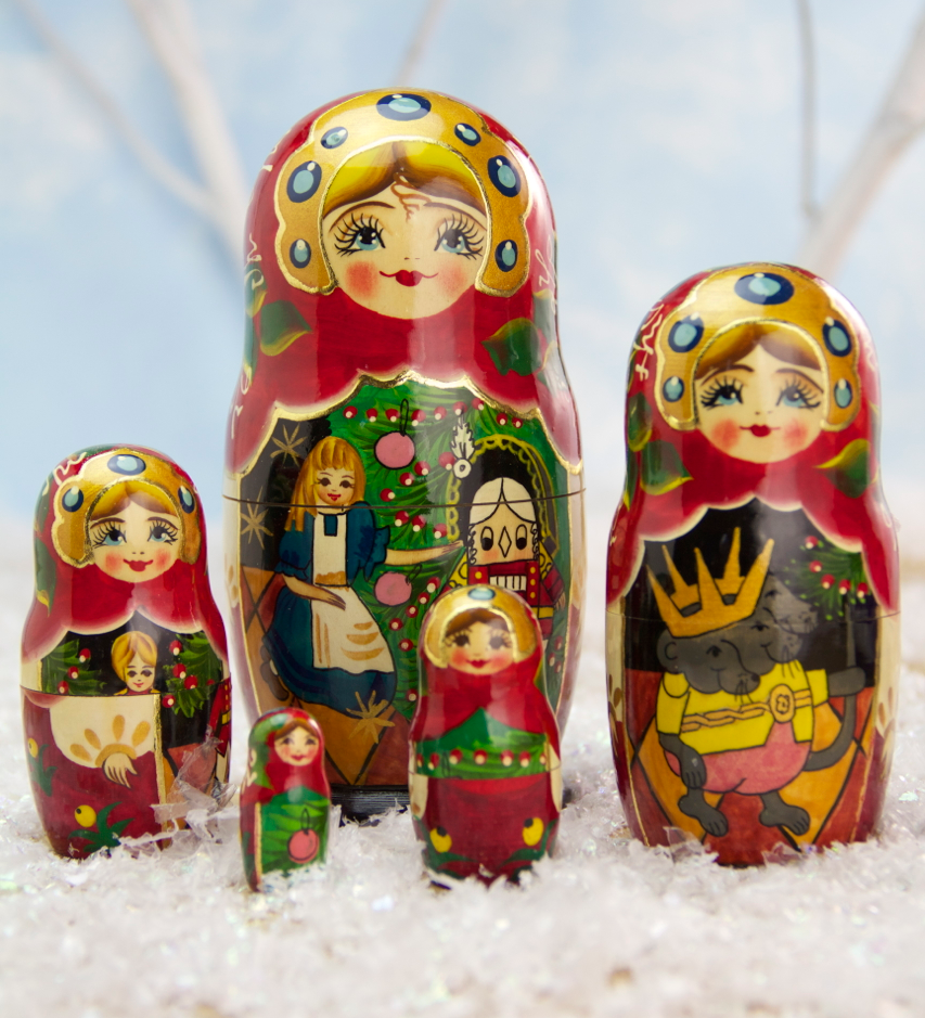 Nutcracker Ballet Matryoshka Dolls