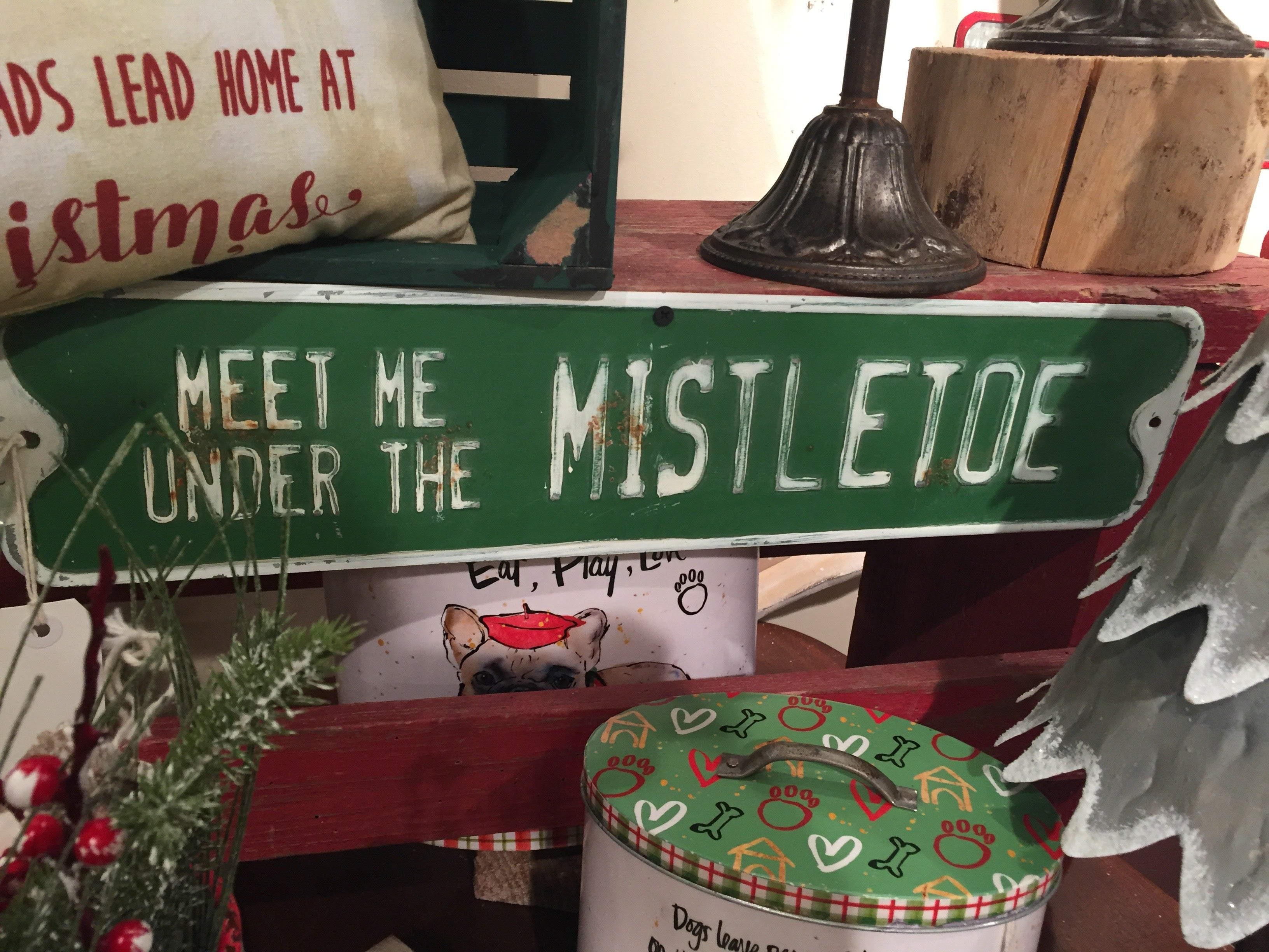 Meet Me Under the Mistletoe Sign