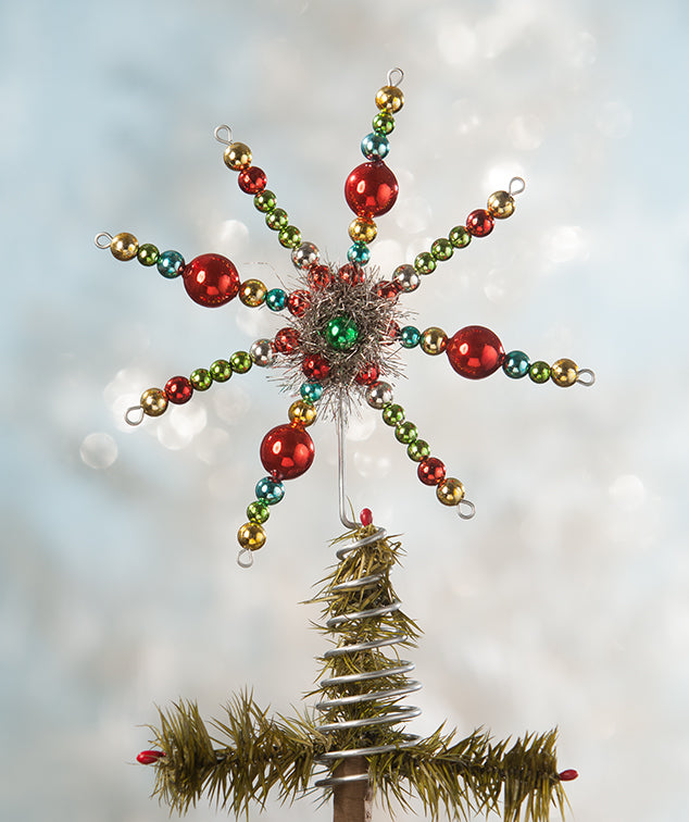 Merry & Bright Starburst Tree Topper
