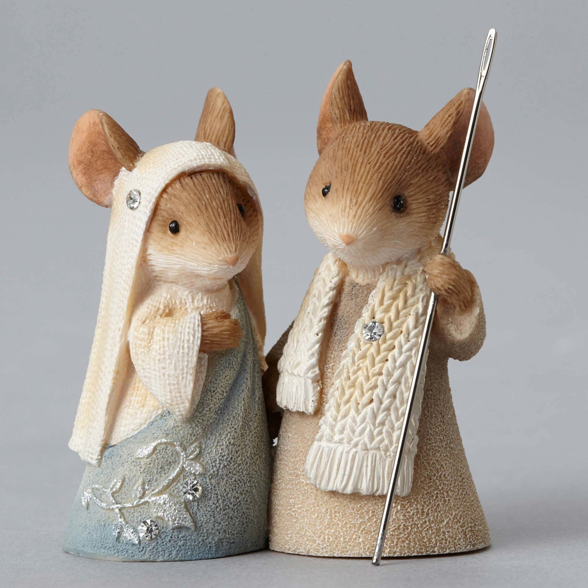 Mice Nativity Pageant Figurines