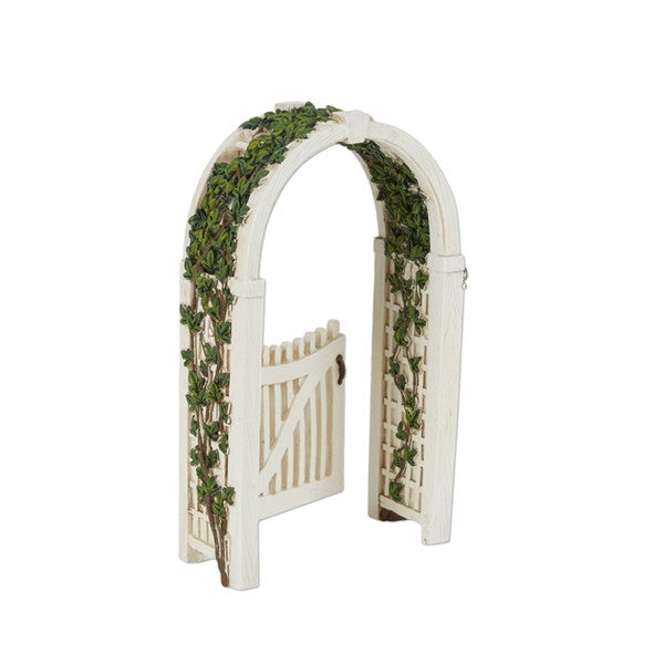 Mini Arbor with Vines & Gate for Fairy Garden