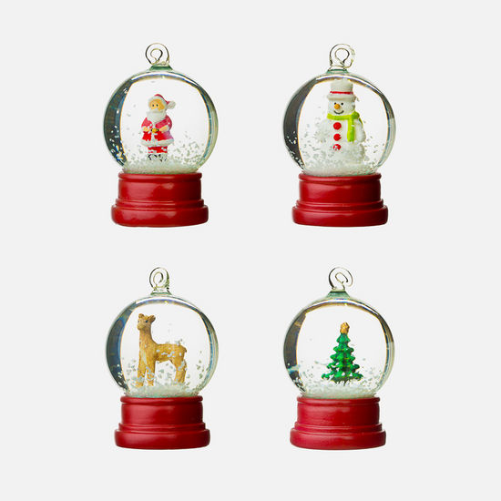 Mini Christmas Snowglobe Ornaments