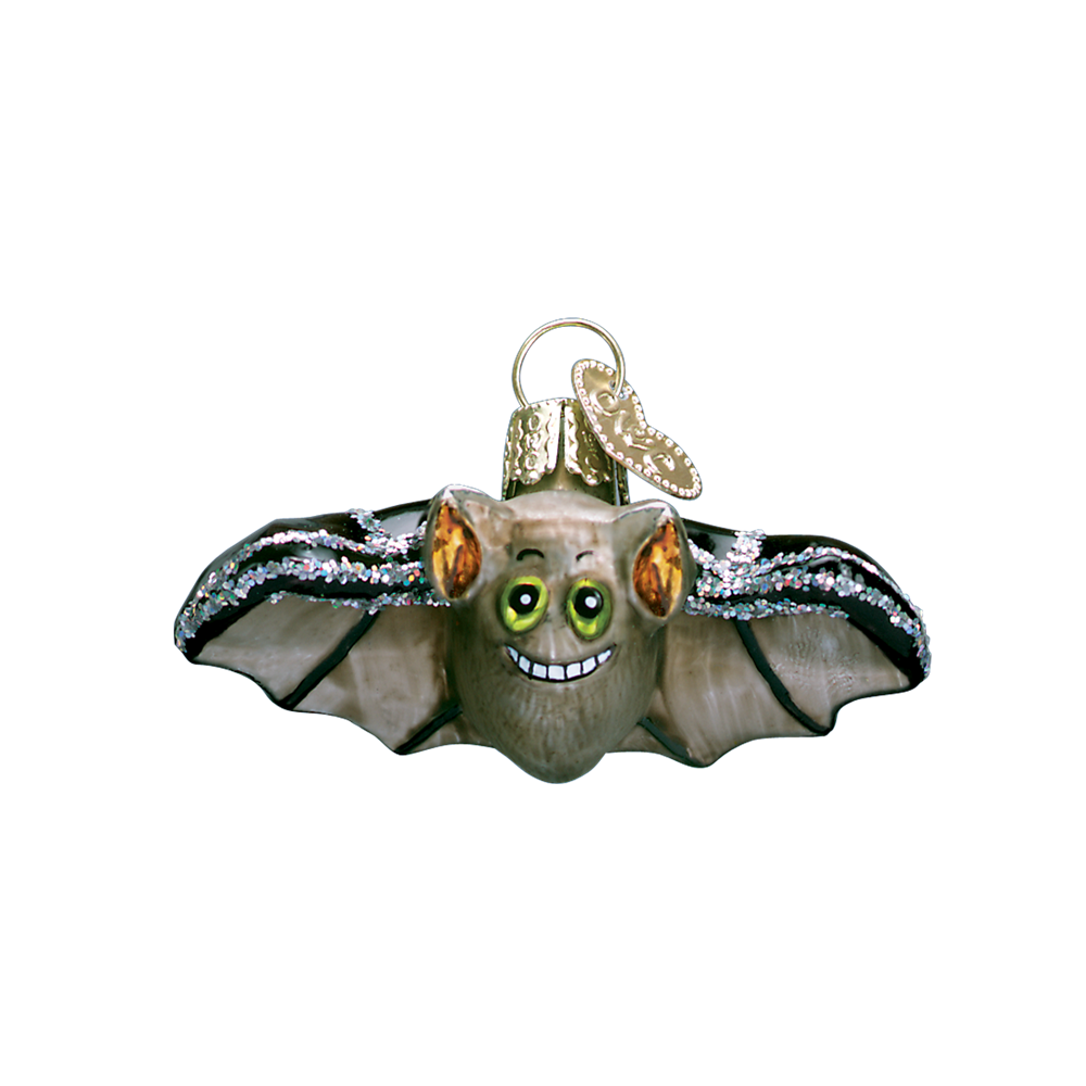 Mini Bat Ornament or Halloween Tree