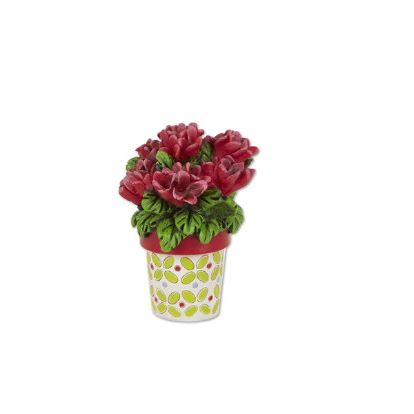 Mini Potted Geraniums - Mary Engelbreit