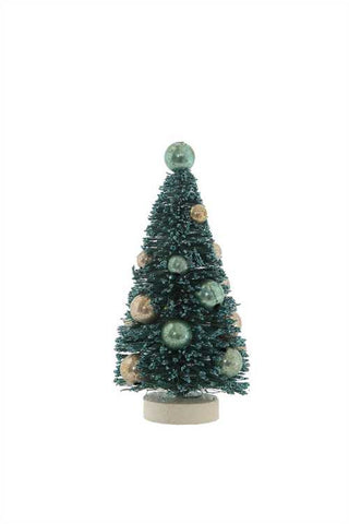 spruce blue mini bottle brush trees - Christmas Tree Blue