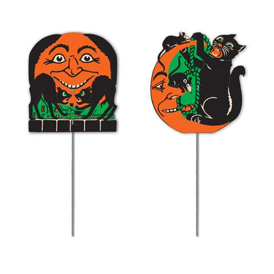Mini Vintage Halloween Signs