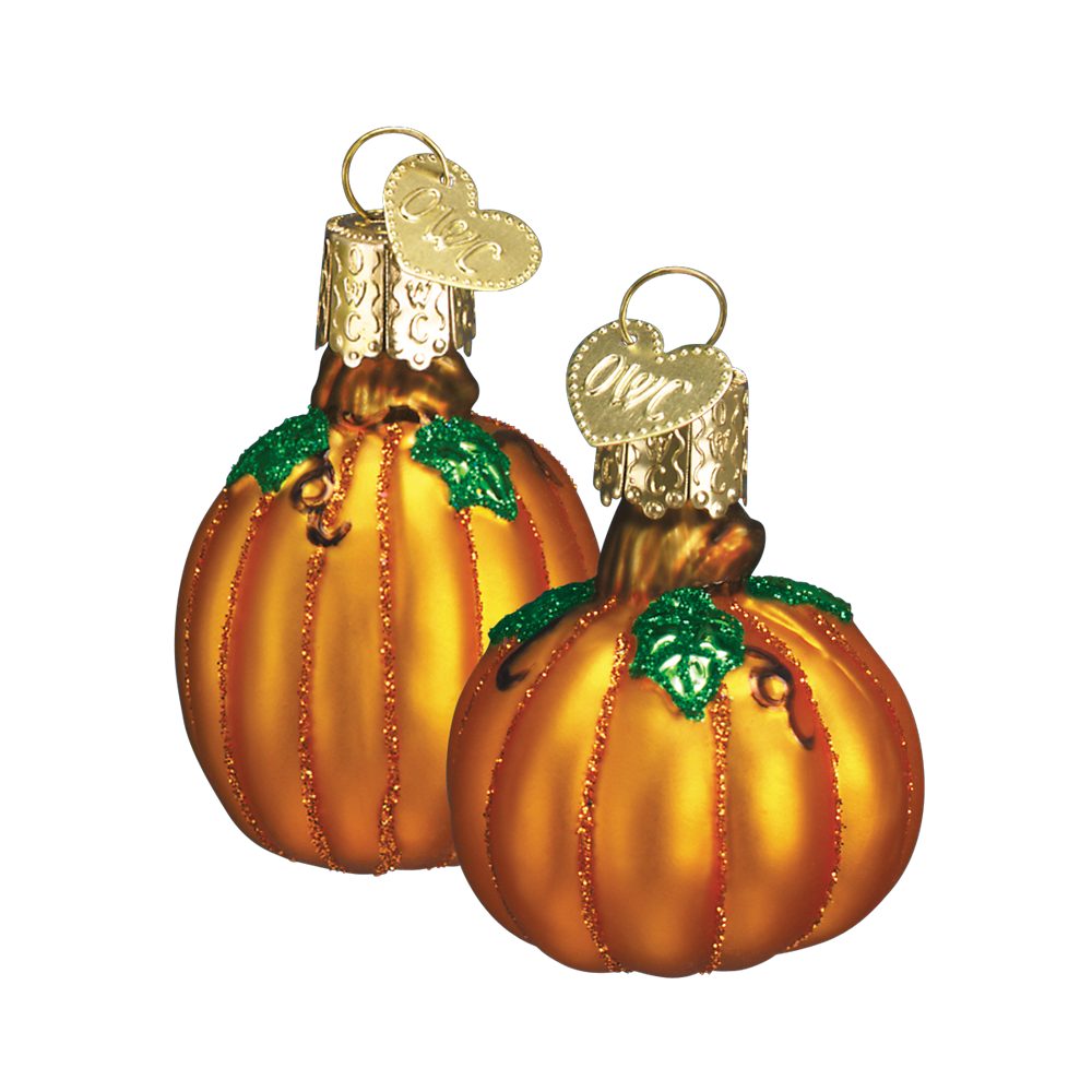 miniature pumpkin ornaments