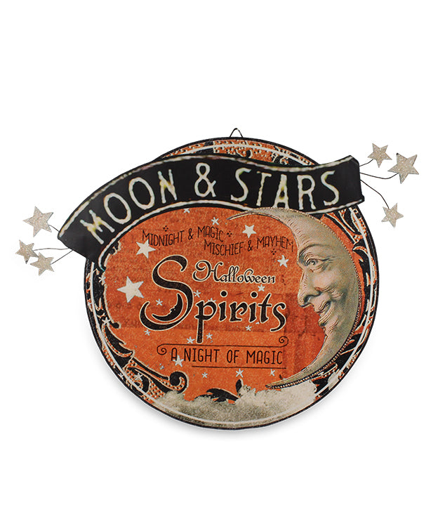 Magic Halloween Spirits Tin Sign by Bethany Lowe