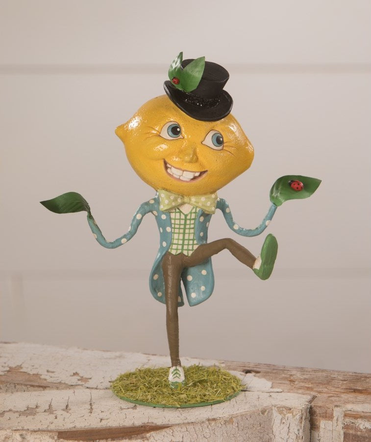 Mr. Lemon Head Figurine by Bethany Lowe