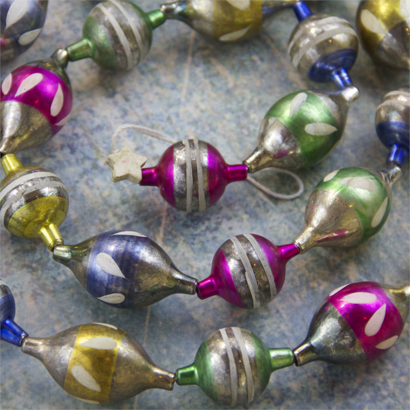 Multi Bauble Garland