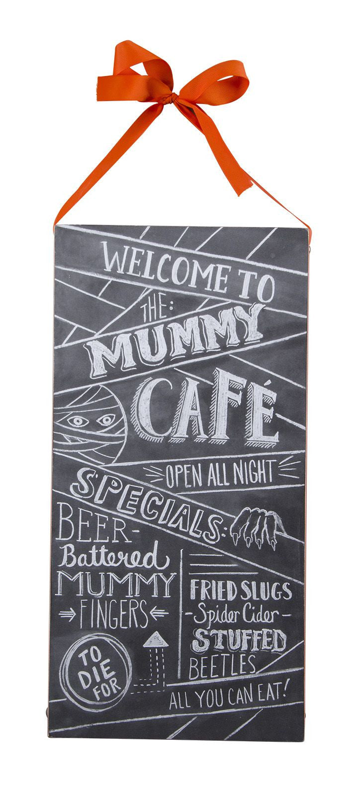 Mummys Cafe Chalk Sign