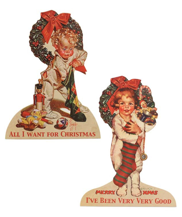 The Night Before Christmas Children Dummy Boards