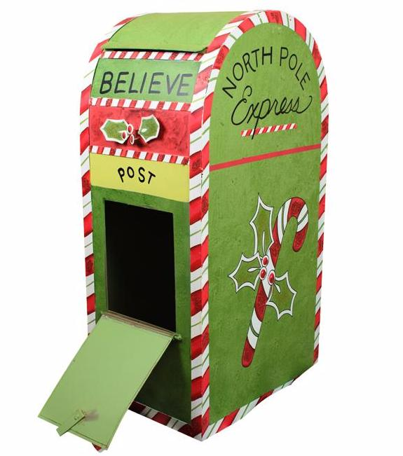 North Pole Express Mailbox