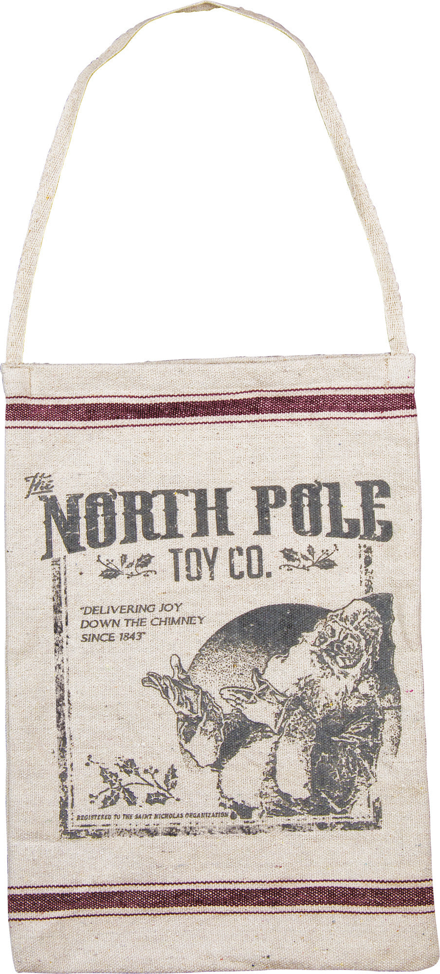 North Pole Toy Company Bag