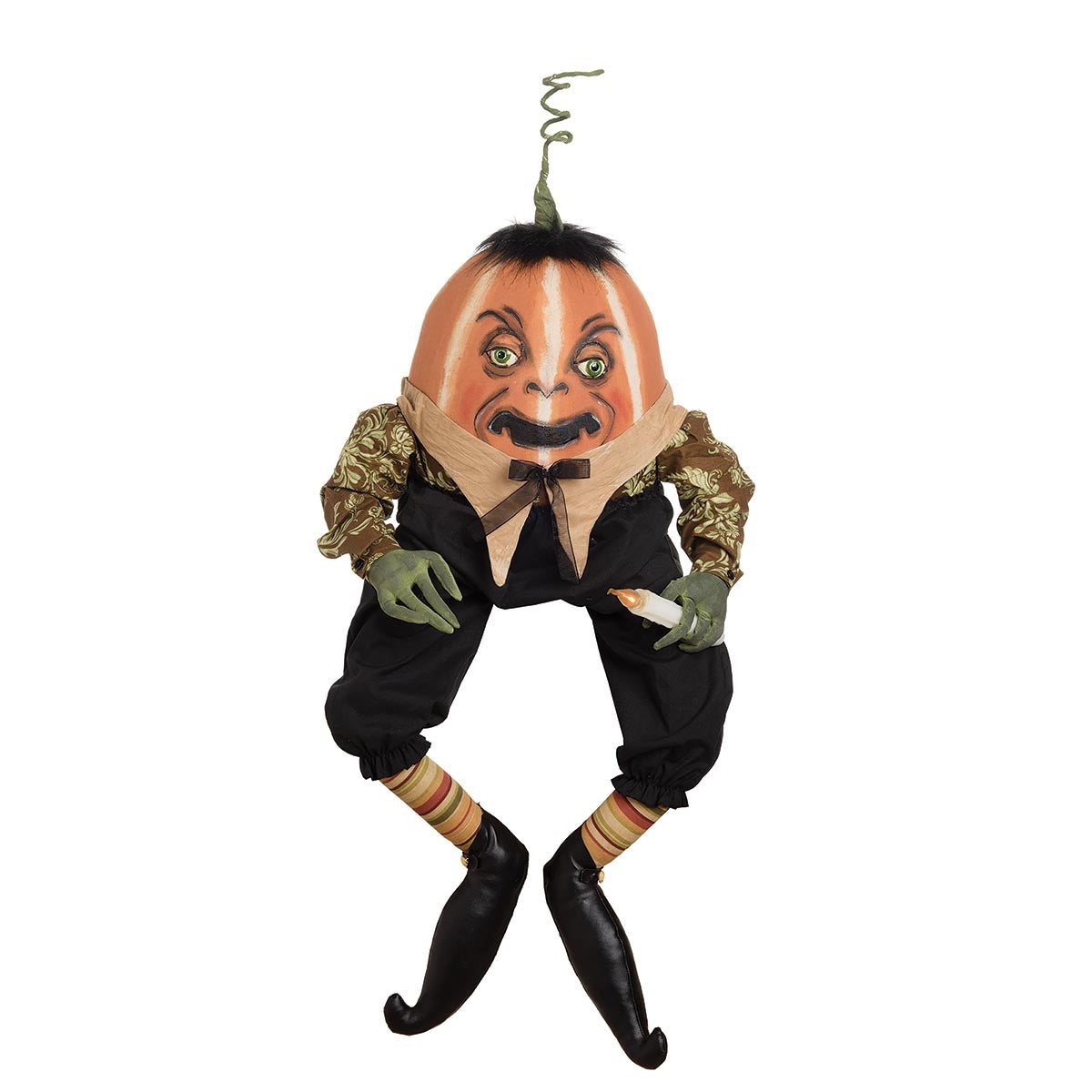 Joe Spencer Obadiah Pumpkin Head Doll