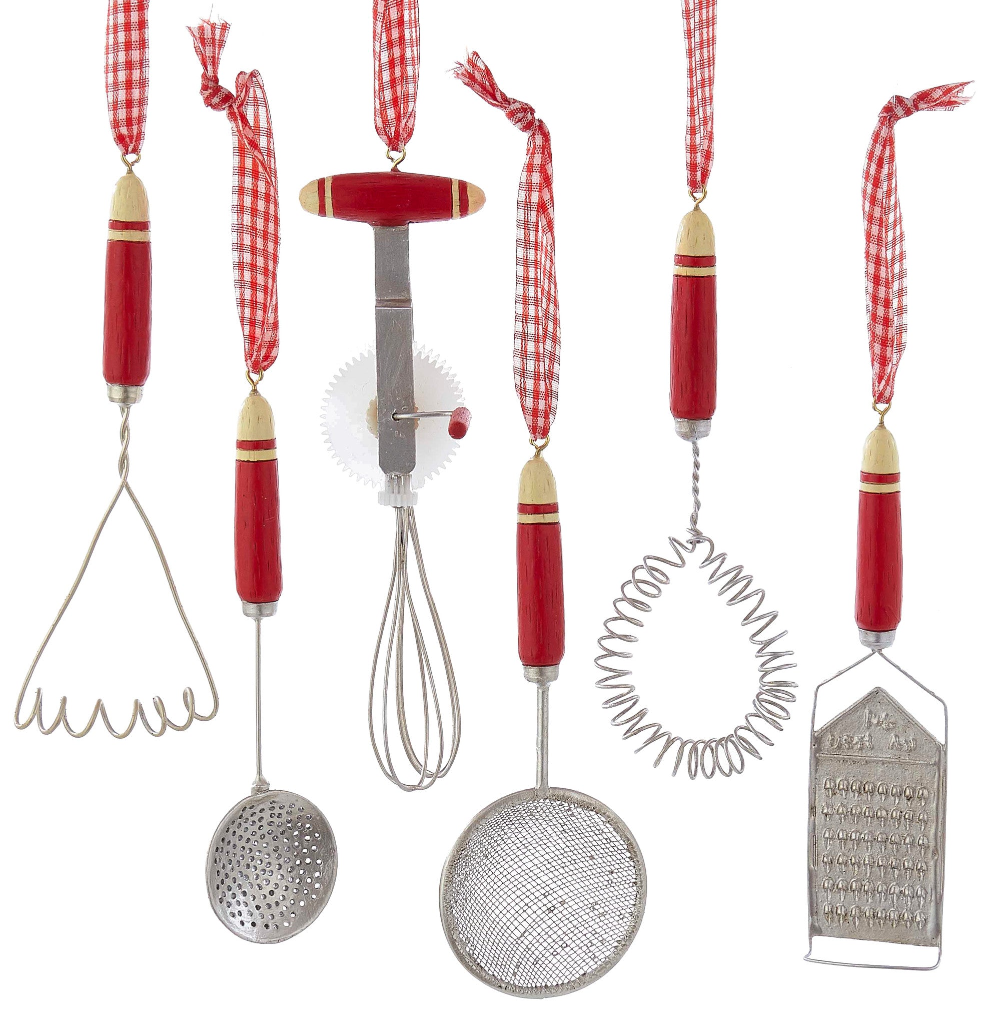 Grandma S Old Fashioned Kitchen Utensil Ornaments Christmas Tree Theholidaybarn Com