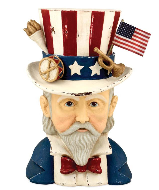 Bethany Lowe Uncle Sam Container