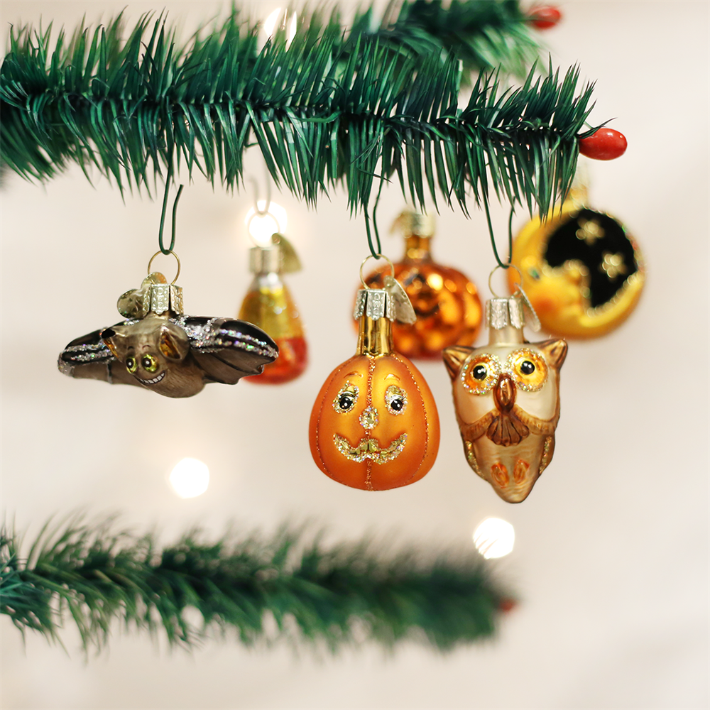 Old World Christmas Miniature Halloween Ornaments