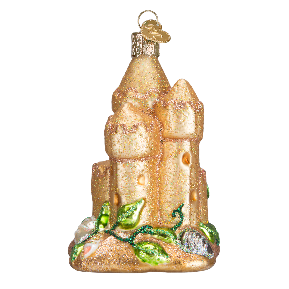 Old World Christmas Sand Castle Ornaments
