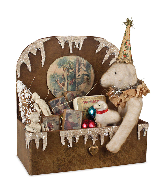 Olde Bear in a Box by Vickie Smyers Christmas Teddy Bears