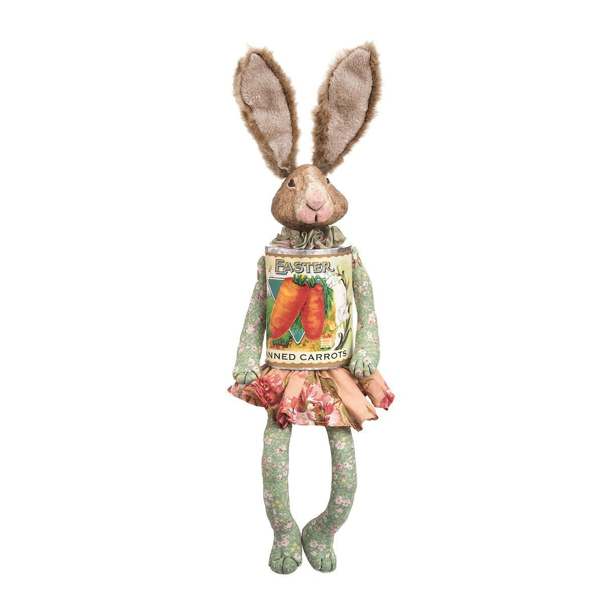 Olivia Rabbit with Carrot Can Body