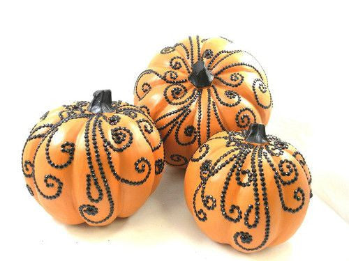 Orange Jeweled Pumpkins
