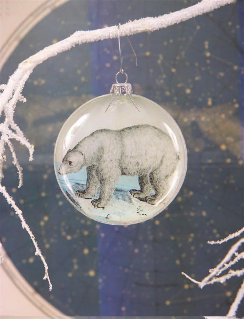 Polar Bear Diorama Ornament