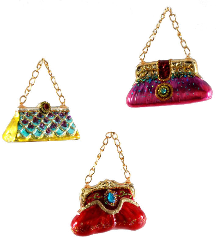 Fancy Purse Ornaments by Katherine's Collection