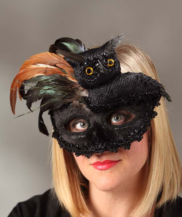 Owl Masquerade Mask - Costume Disguise & Owl Masquerade Mask