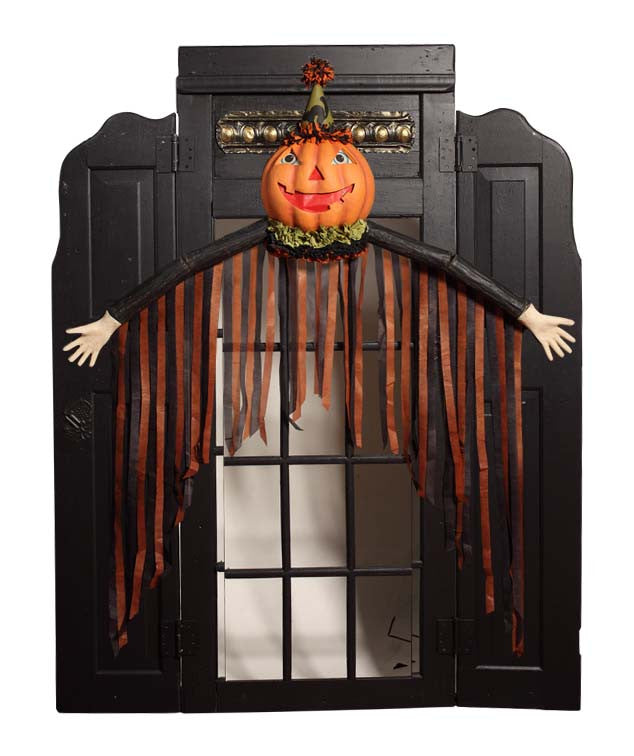 Party Pumpkin Wall Hanging by Bethany Lowe