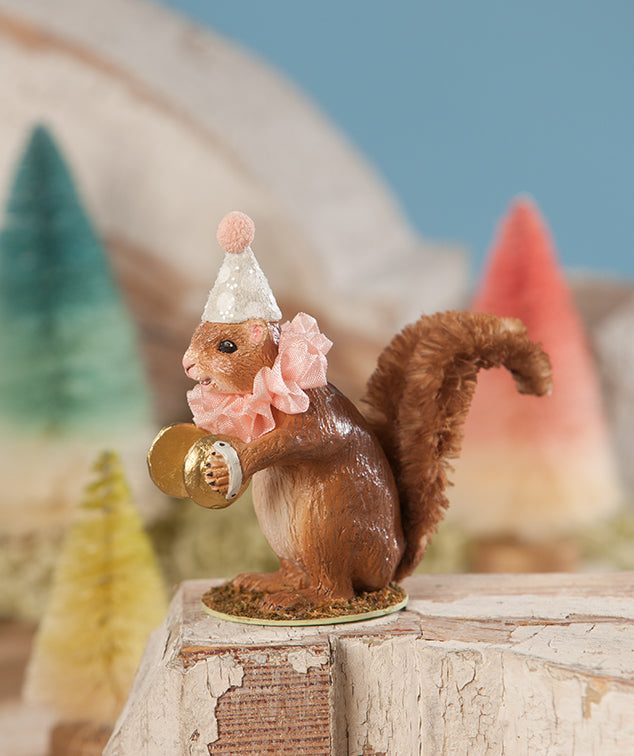 Party Squirrel with Symbols by Bethany Lowe