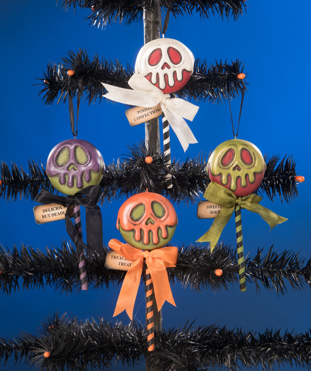 Poison Treats Ornaments