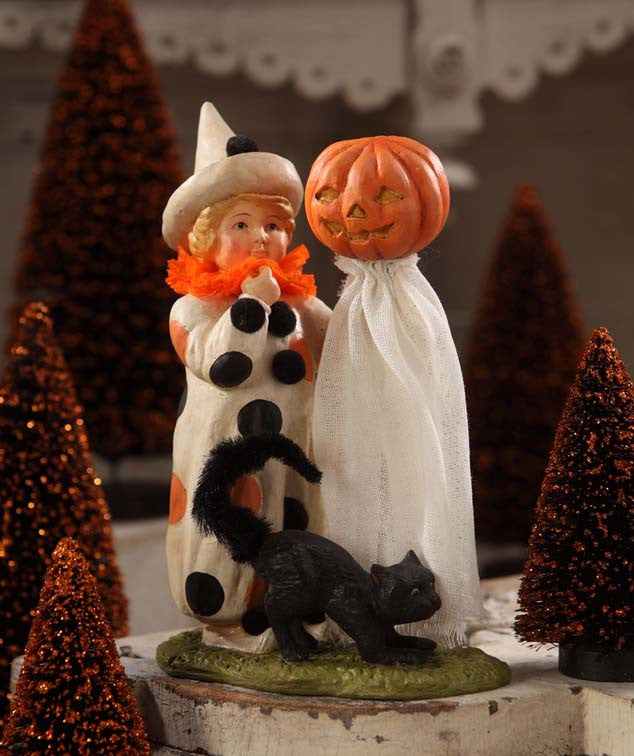Bethany Lowe Polka Dot Child Halloween Figurine