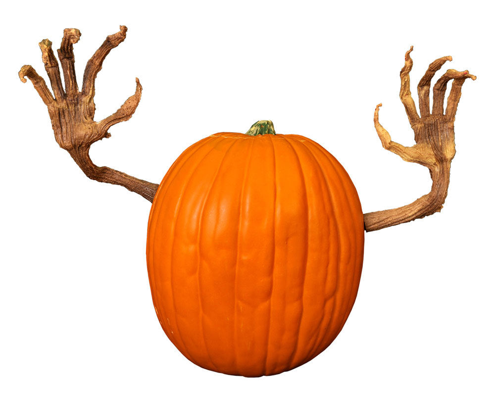 Pumpkin Vine Arms - Poseable Halloween Character