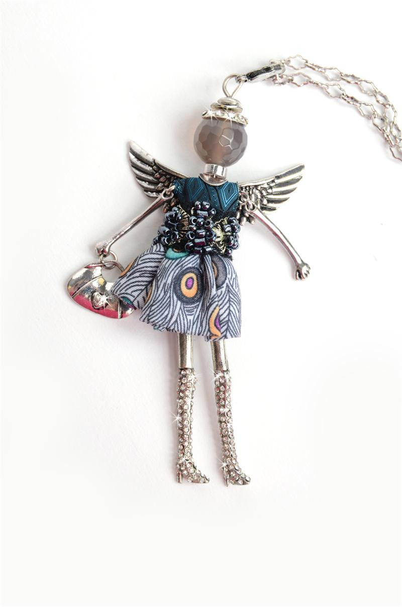 Prosperity Angel Necklace