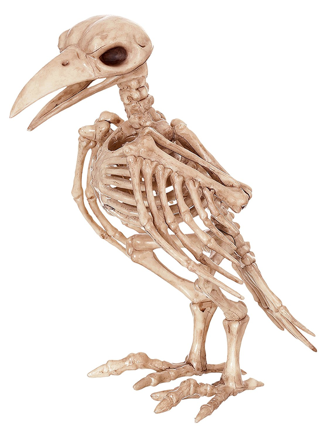 Raven Skeleton Figurine