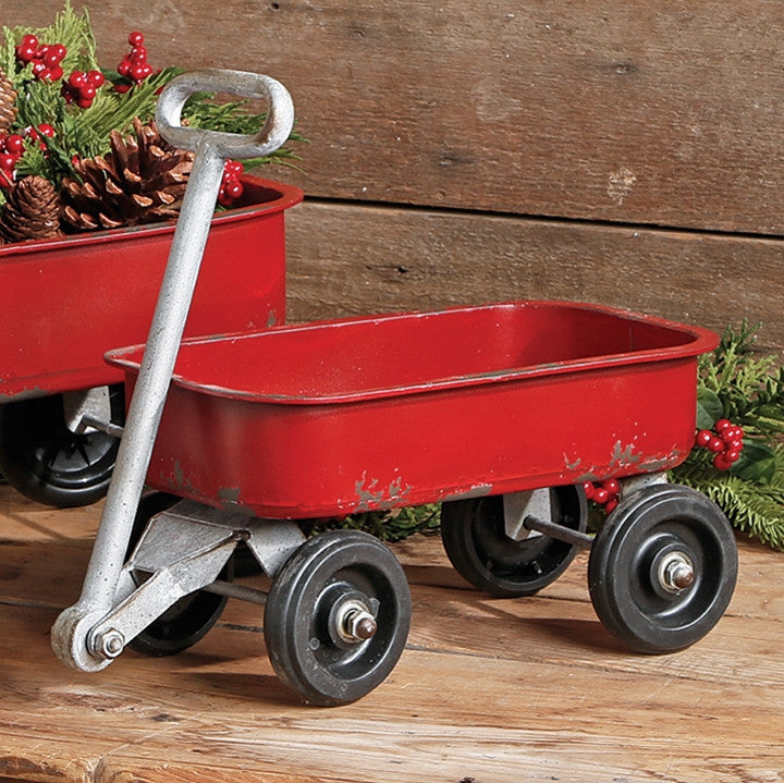 Red Red Wagon for Christmas Display