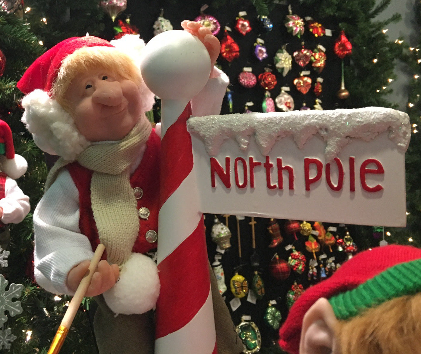 Reggie North Pole Painter Elf