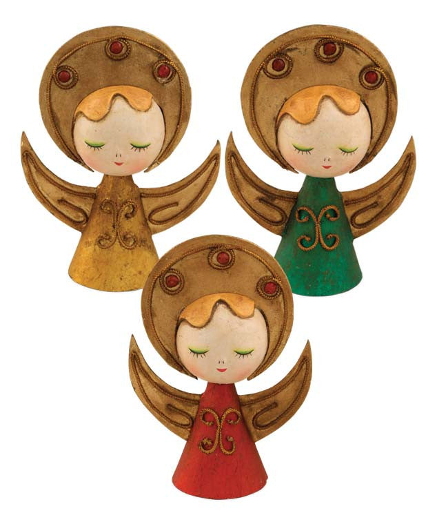 Retro Christmas Angels