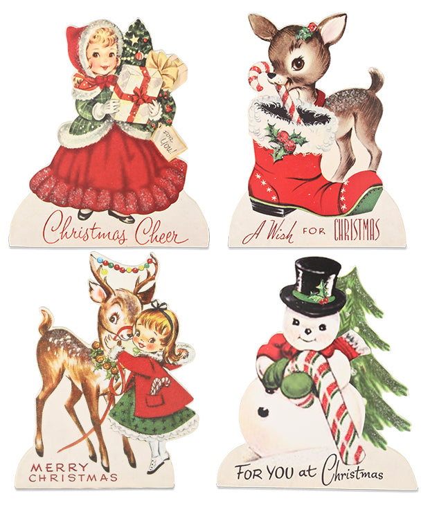 Retro Christmas Friends Dummy Boards