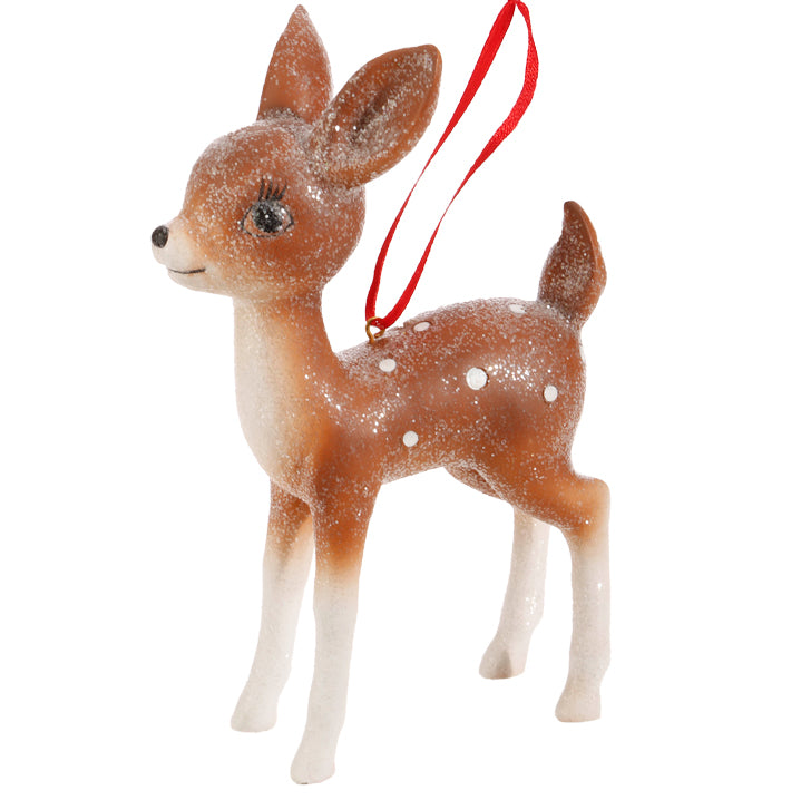 Retro Deer Ornament