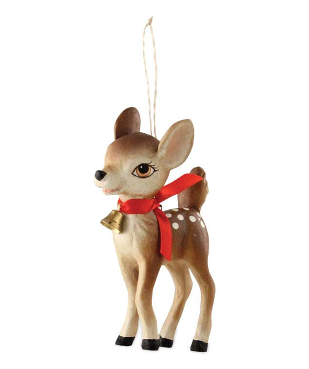 retro fawn ornament reindeer decorations