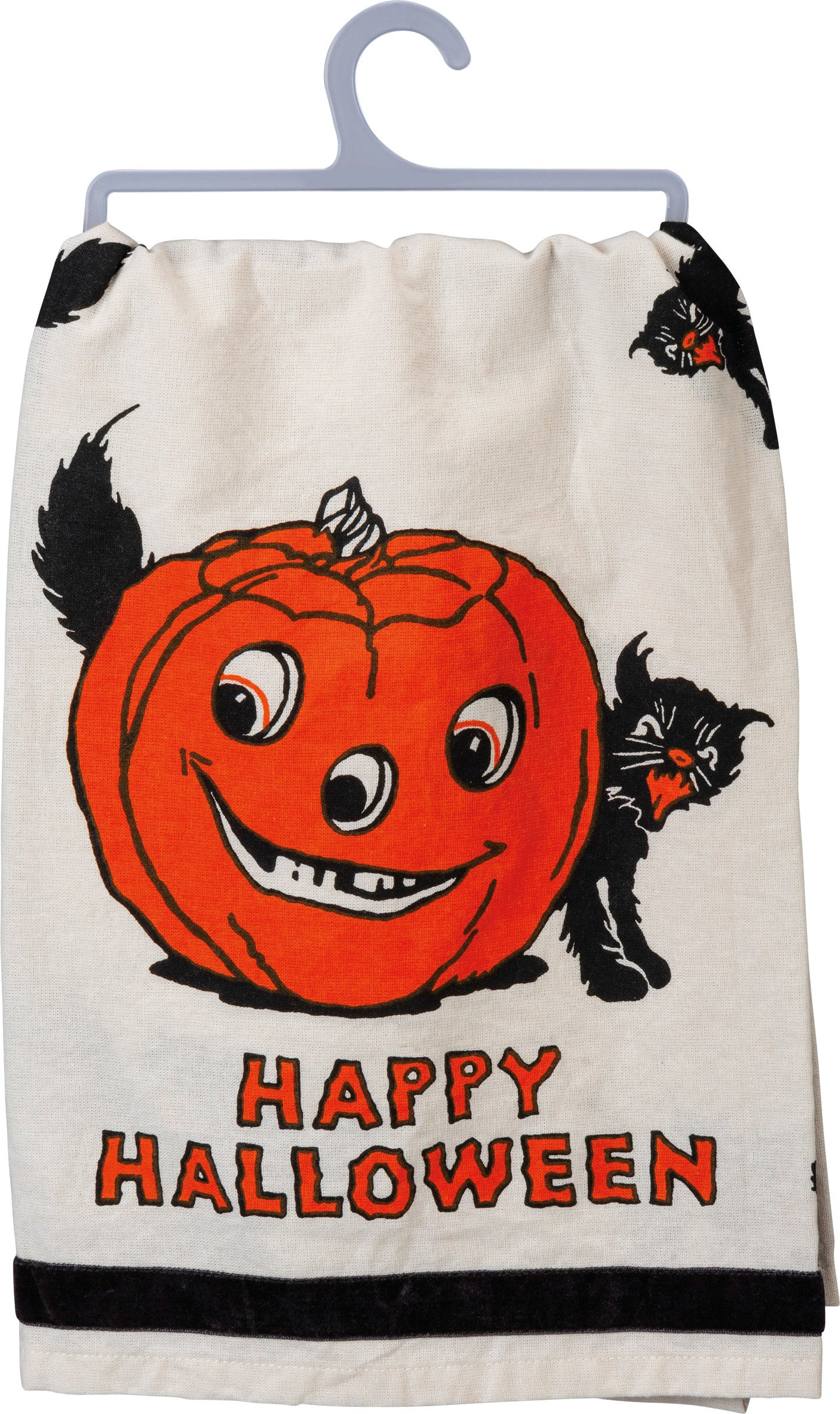 Retro Happy Halloween Towel