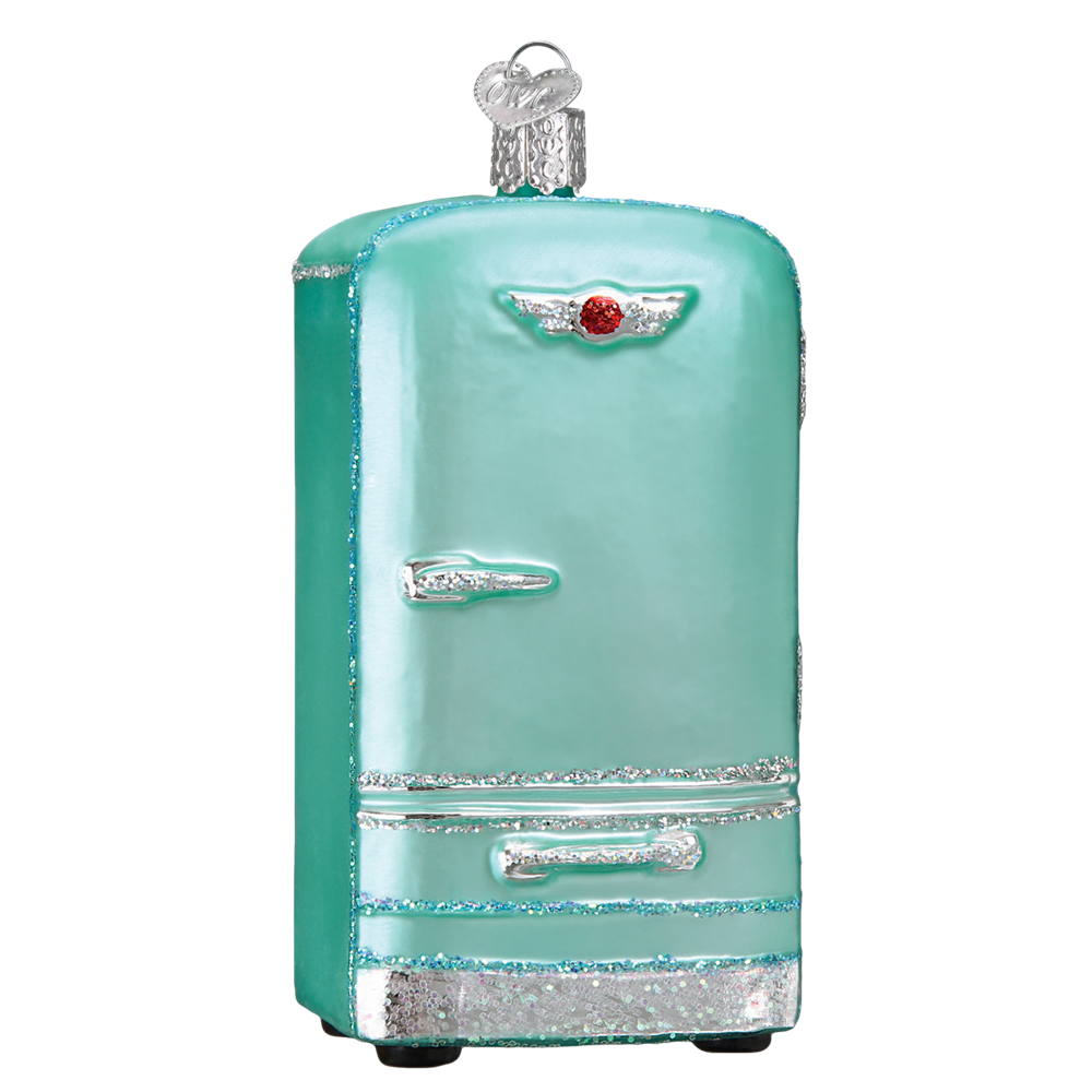 Retro Refrigerator Ornaments for the Christmas Tree