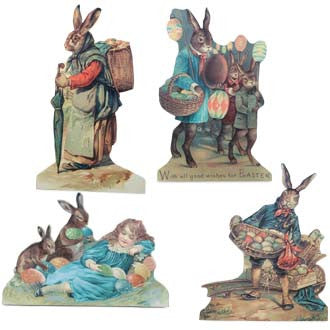 Bunnies at Easter Dummy Boards