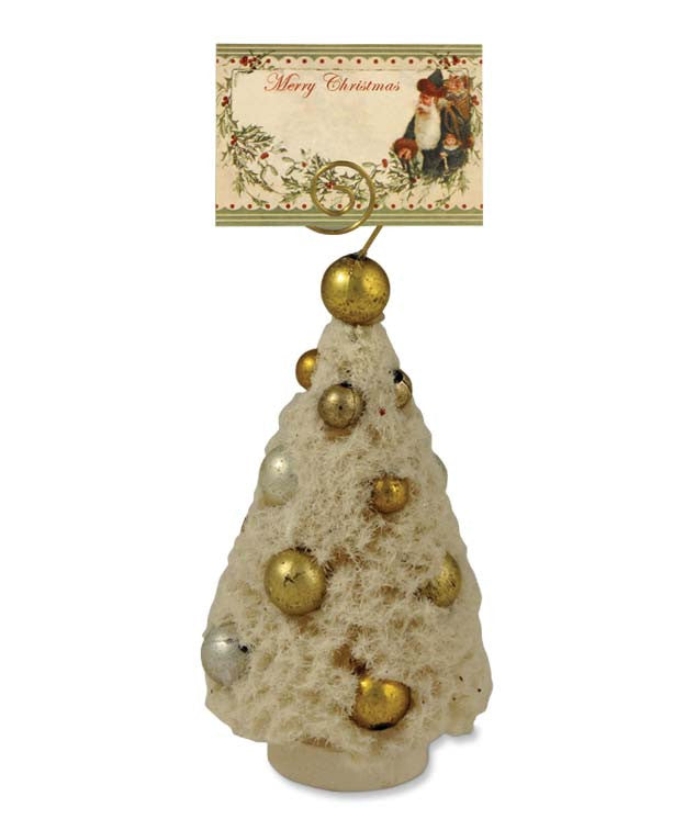 Romantic Tree Placecard Holder or Ornament