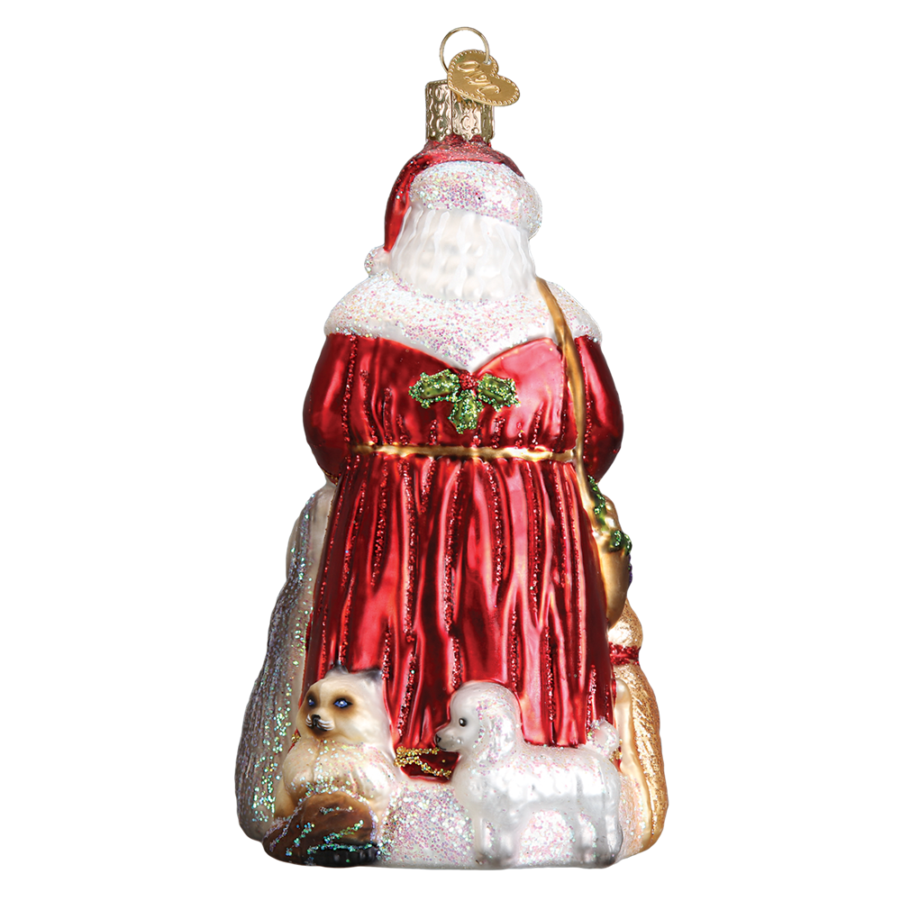 Santa's Furry Friends Ornament