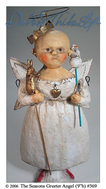 The Seasons Greeter Angel