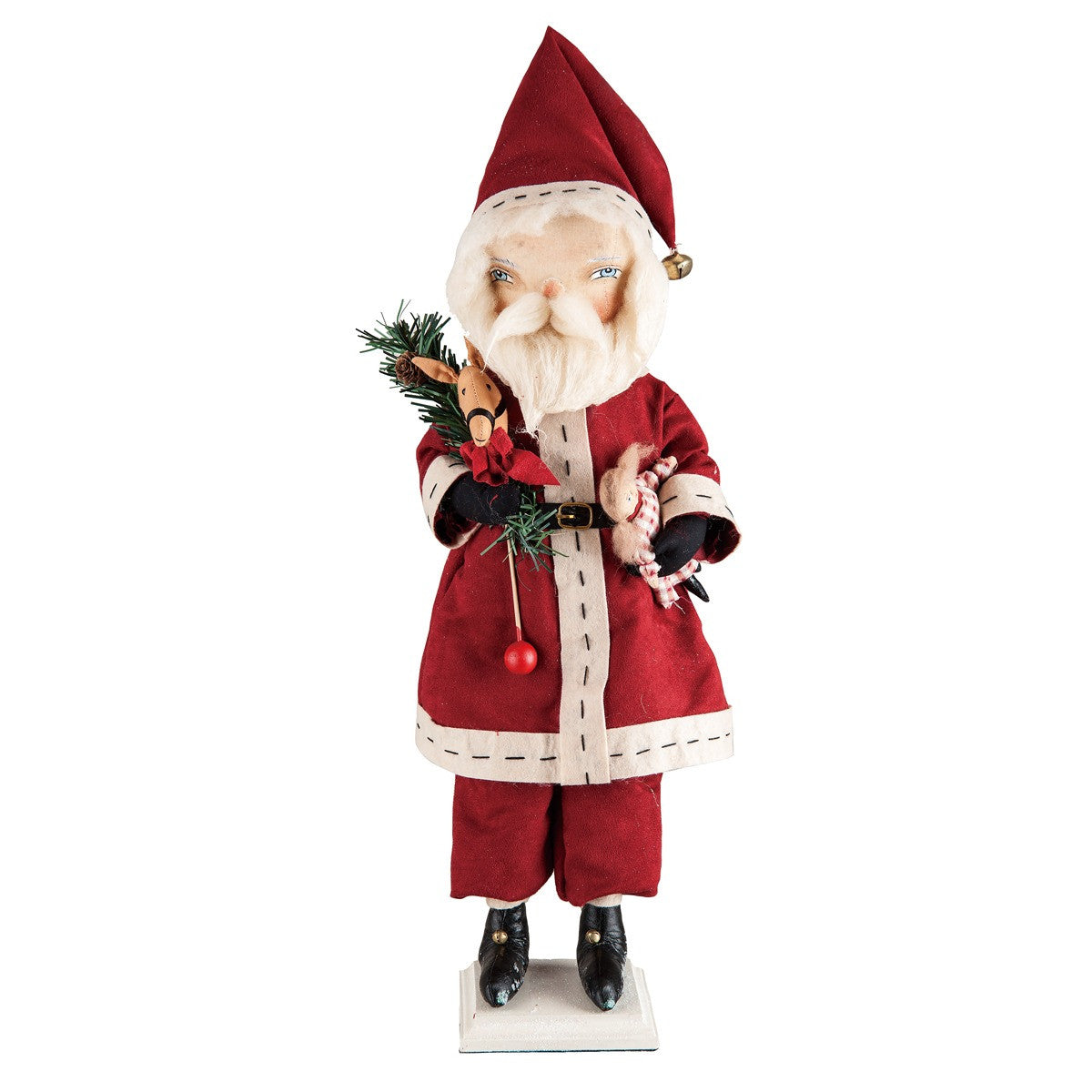 Sedrick Standing Santa - Joe Spencer Christmas Doll