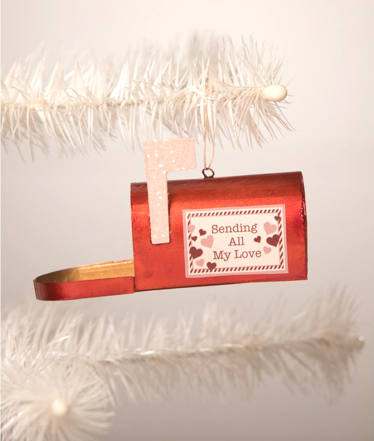 Sending All My Love Mailbox Ornament